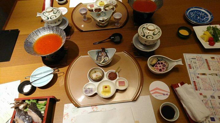 ホテル翔峰 夕食