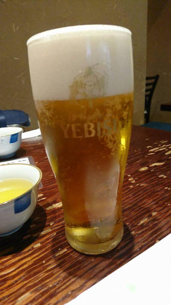 生ビール みよ田