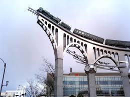 銀河鉄道999!高架橋!