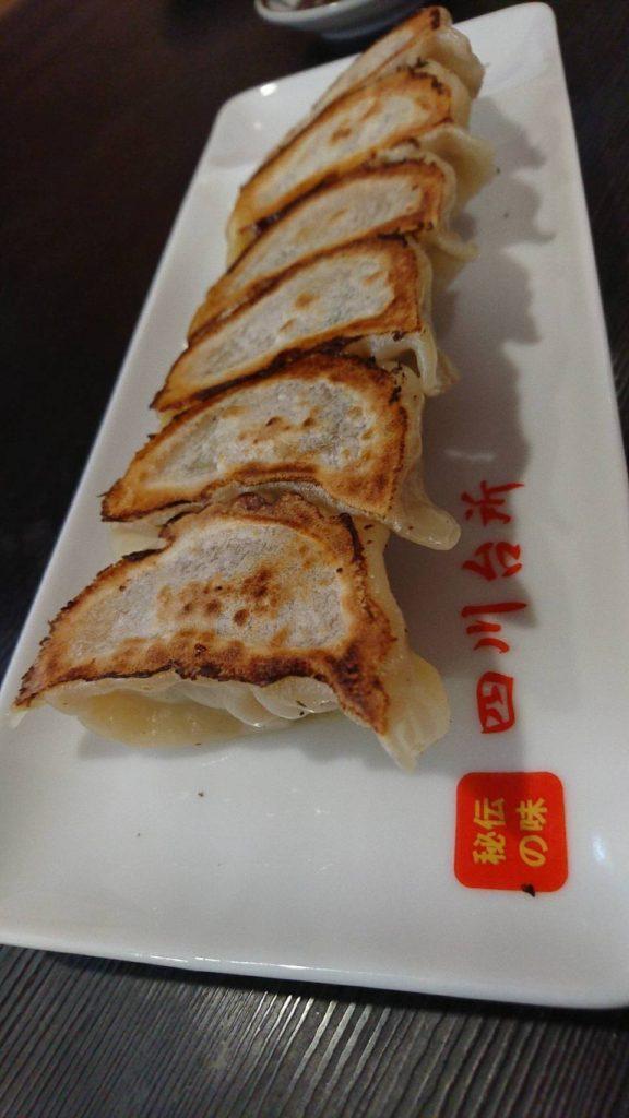 四川台所 焼き餃子