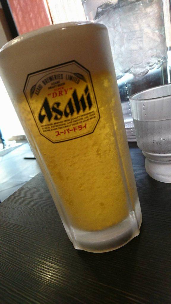 四川台所 生ビール