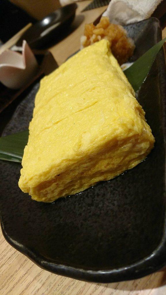蕎麦 大石 玉子焼き