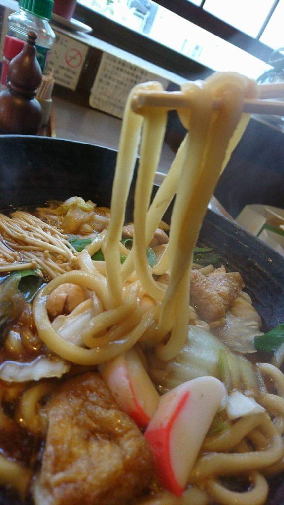 戸田屋 蕎麦(なべやきうどん玉子入り)