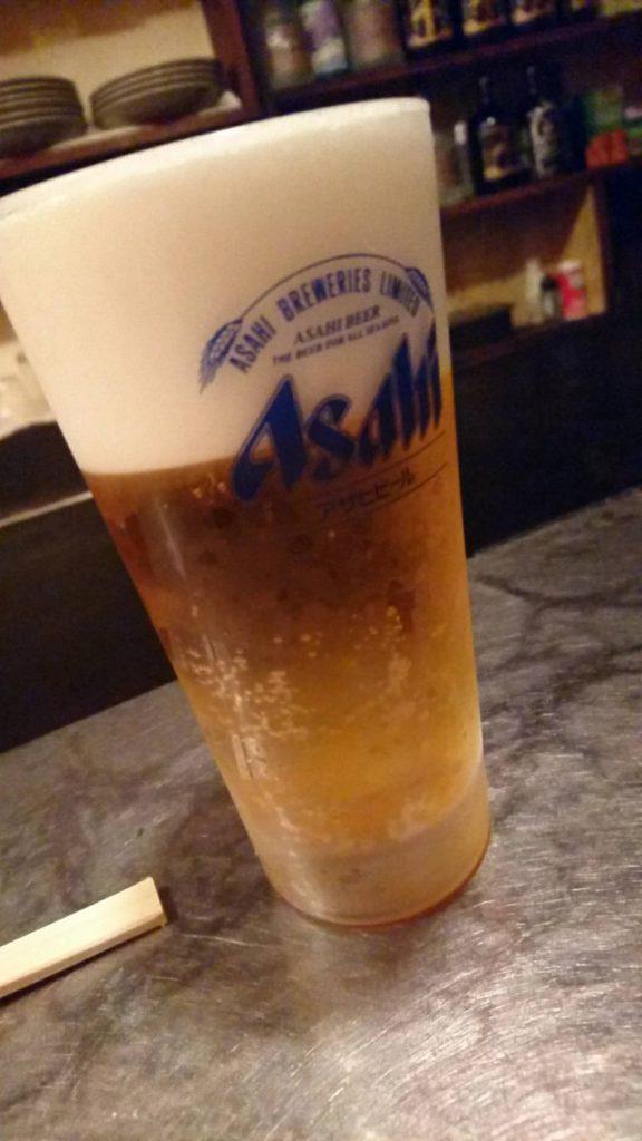 一休炎(生ビール)