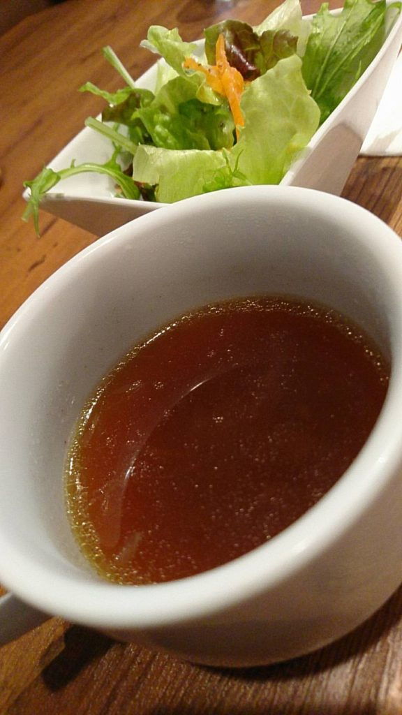 肉食堂 ランチ(スープ・サラダ)