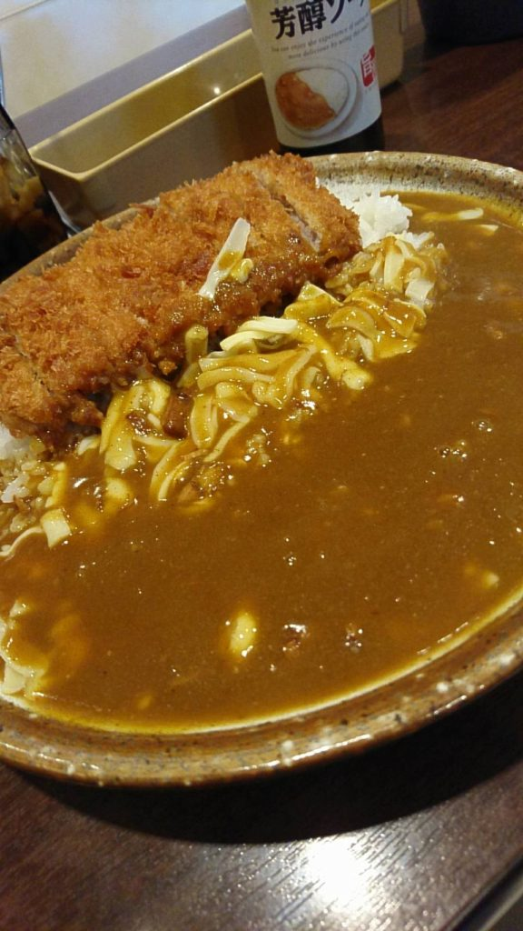 CoⅭo壱番屋(手仕込み豚ヒレ勝つカレー&チーズ)