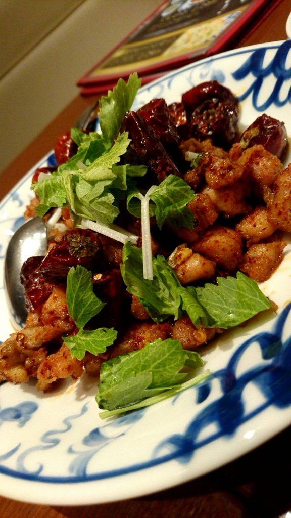 陳麻婆豆腐ラシック(鶏肉の香り炒め)
