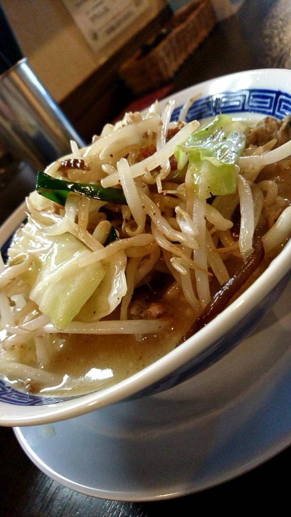 タンメン ニュータマヤ (野菜多め)