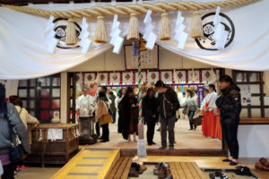 尾張猿田彦神社 初詣