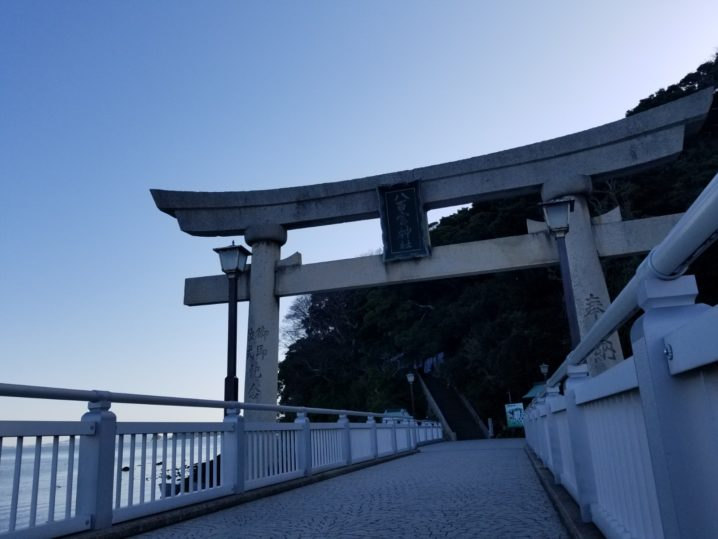 蒲郡 竹島 八百富神社